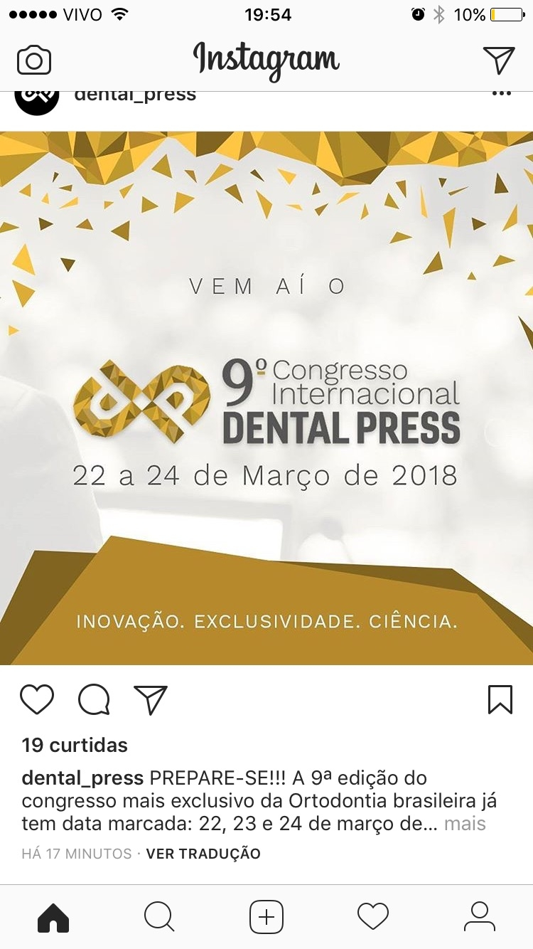 9° Congresso Internacional Dental Press